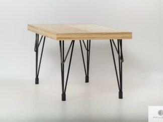 Tisch aus Massivholz für Esszimmer und Wohnzimmer IFUX finden Sie uns auf https://www.facebook.com/RaWoodpl/