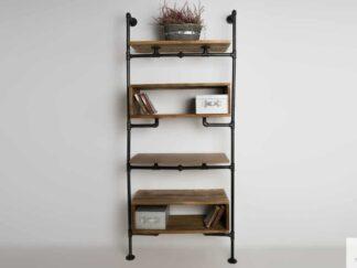 Modulare Regal aus Massivholz für Wohnzimmer Büro DENAR finden uns auf https://www.facebook.com/RaWoodpl/