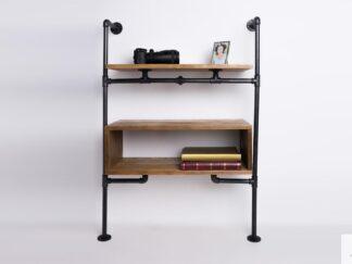 Modulares Regal aus Massivholz für Wohnzimmer Zimmer DENAR finden uns auf https://www.facebook.com/RaWoodpl/