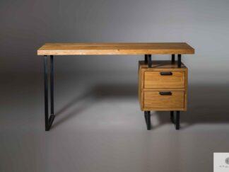 Schreibtisch aus Massivholz HUGON finden Sie uns auf https://www.facebook.com/RaWoodpl/