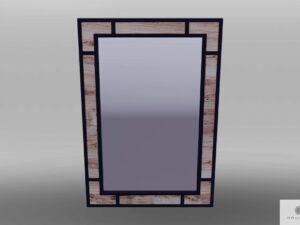 Spiegel mit Rahmen aus Massivholz HUGON finden Sie uns auf https://www.facebook.com/RaWoodpl/