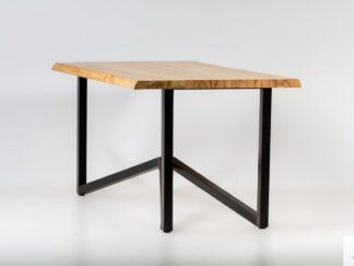 Tisch aus altem Holz und Glas ins Esszimmer INDRA finden Sie uns auf https://www.facebook.com/RaWoodpl/