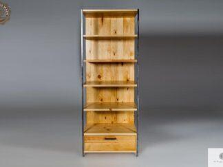 Industrielle Bücherregal aus altem Massivholz finden Sie uns auf https://www.facebook.com/RaWoodpl/