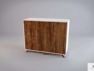 Moderne Holz Kommode mit Fronten aus altem Massivholz BERGEN finden uns auf https://www.facebook.com/RaWoodpl/