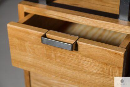 Schreibtisch aus Eichenholzins Arbeitzimmer Kanzlei HUGON Mobelhersteller RaWood Premium Mobel