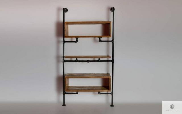 Modulare Holzregal ins Wohnzimmer DENAR finden uns auf https://www.facebook.com/RaWoodpl/