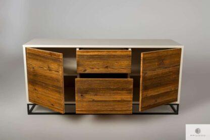 Geräumige Fernsehschrank aus Massivholz ins Wohnzimmer ADEO Mobelhersteller RaWood Premium Mobel