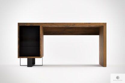 Rustikale Eiche Schreibtisch ins Arbeitzimmer MOCCA Mobelhersteller RaWood Premium Mobel