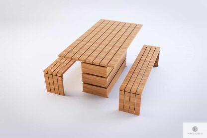 Gartenbank aus Massivholz CAMERON Möbelhersteller RaWood Premium Möbel