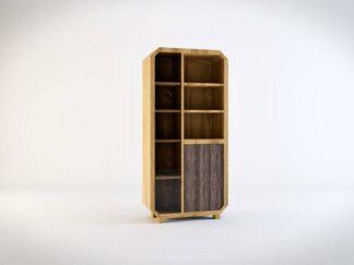 Bücherregale aus Massivholz Standregale ins Wohnzimmer Arbeitzimmer
