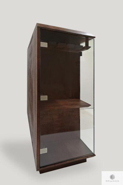 Modern Barschrank aus Massivholz mit Gläserhalterung CARMEN