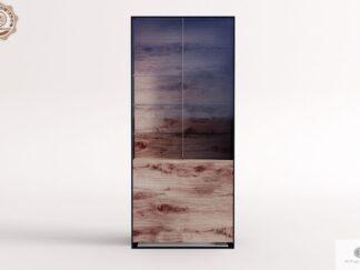 Eiche große Glasvitrine ins Wohnzimmer IBSEN Möbelhersteller RaWood Premium Möbel