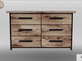 Elegante Kommode aus Eichenholz mit Schubladen HUGON Mobelhersteller RaWood Premium Mobel