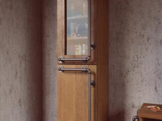 Industrielle Vitrine aus Massivkiefernholz ins Wohnzimmer DENAR finden Sie uns auf https://www.facebook.com/RaWoodpl/