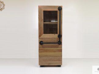 Bücherregal aus Massivholz ins Wohnzimmer DENAR finden Sie uns auf https://www.facebook.com/RaWoodpl/