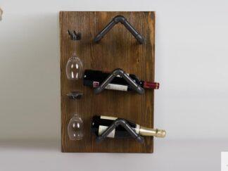 Weinregal aus Massivholz ins Esszimmer DENAR Möbelhersteller RaWood Premium Möbel