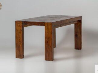 Rustikaler Tisch aus Altholz ins Esszimmer DRACO finden Sie uns auf https://www.facebook.com/RaWoodpl/