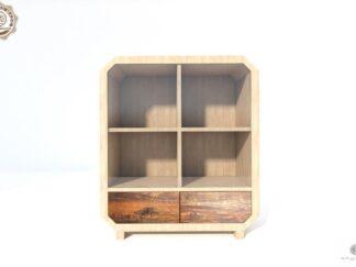 Solide Kommode aus Massivholz mit Glas ins Wohnzimmer Zimmer OMNIS finden Sie uns auf https://www.facebook.com/RaWoodpl/