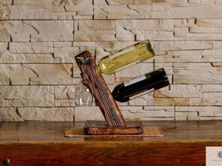 Weinständer aus Massivholz ins Wohnzimmer finden Sie uns auf https://www.facebook.com/RaWoodpl/