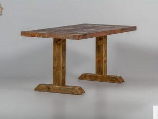 Holztisch aus Massivholz ins Esszimmer DREDD finden Sie uns auf https://www.facebook.com/RaWoodpl/