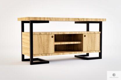 Eiche Fernsehschrank aus Massivholz ins Wohnzimmer OLIMPIA
