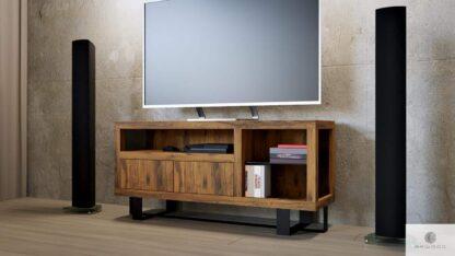 TV Schrank aus Eichenholz ins Wohnzimemr MOCCA