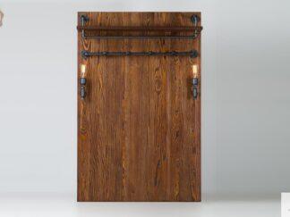 Wandgarderobe auf Kleidung Holz Garderobenpaneel ins Flur DENAR finden Sie uns auf https://www.facebook.com/RaWoodpl/