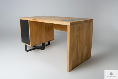 Schreibtisch aus Eichenholz ins Arbeitzimmer MOCCA