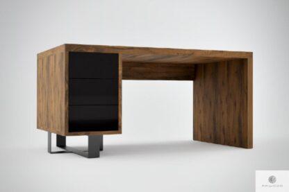 Rustikale Eiche Schreibtisch ins Arbeitzimmer MOCCA