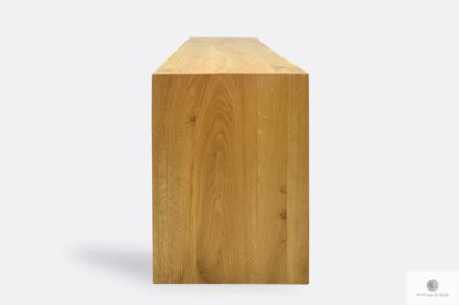 Eiche Bank aus natürliche Massivholz auf Bestellung HUGON I