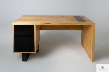 Eiche Schreibtisch mit Schubladen auf Dimension MOCCA