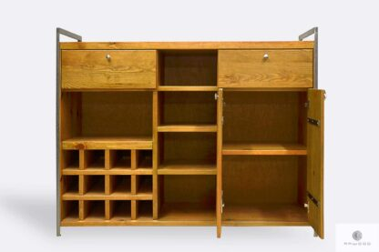 Holz Barschrank mit Regale Schrank ins Esszimmer
