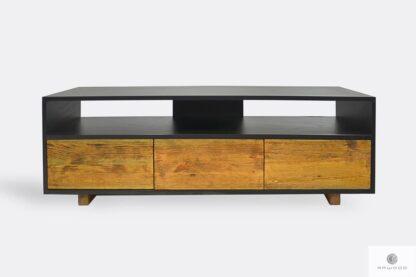 Industrielle Holz TV Schrank mit Schubladen ins Wohnzimmer NESCA I