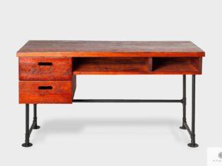 Industrielle Schreibtisch aus Massivholz ins Zimmer Büro DENAR