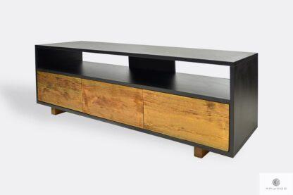 Modern Loft TV Schrank aus Massivholz auf Dimension NESCA I