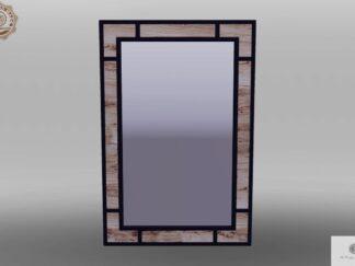 Spiegel mit Holzrahmen ins Wohnzimmer Zimmer HUGON finden Sie uns auf https://www.facebook.com/RaWoodpl/