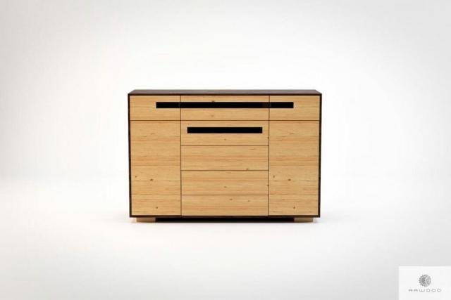 Moderne Kommode aus Holz ins Wohnzimmer LAGOS finden Sie uns auf https://www.facebook.com/RaWoodpl/