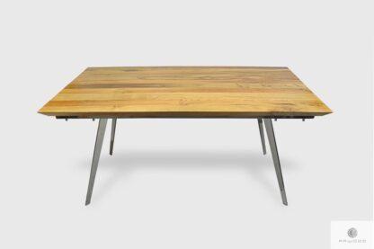 Modern Eiche Tisch mit Metallbeine ins Esszimmer VITA
