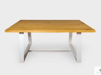 Modern Tisch aus Massiveichenholz ins Esszimmer MERE