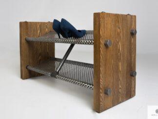 Schuhschrank aus Massivholz für Flur OREST