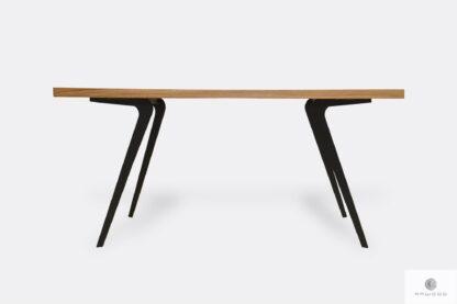 Eiche Tisch auf Metallbeinen VITA