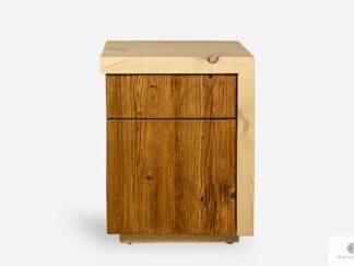 Holz Nachtschrank aus Altholz IKSJA