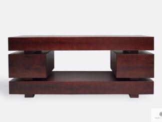 Fernsehschrank in Industrielle Stil mit Schubladen ins Wohnzimmer