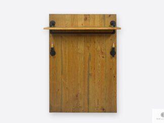 Wandgarderobe auf Kleidung Holz Garderobenpaneel ins Flur DENAR