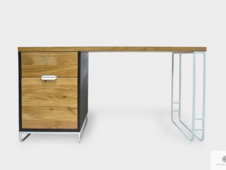 Modern Holz Schreibtisch ins Arbeitzimmer Büro DENIS