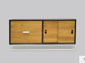 Fernsehschrank aus Holz ins Wohnzimmer DENIS