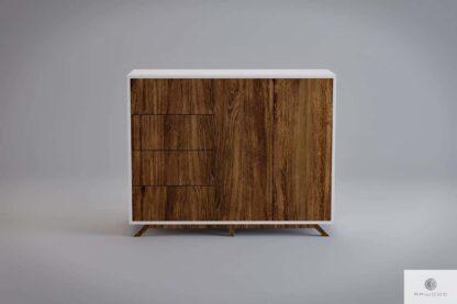 Moderne Holzkommode mit Fronten aus altem Massivholz BERGEN Möbelhersteller RaWood Premium Möbel