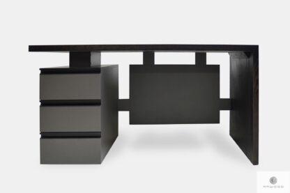 Eiche Schreibtisch mit Schubladen für Open Space ins Büro BOSS