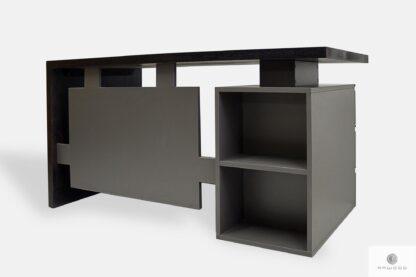 Holz Schreibtisch für Open Space mit Container BOSS
