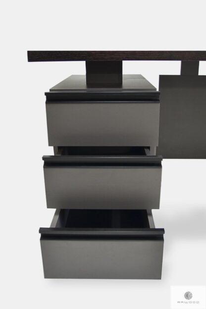 Holz Schreibtisch mit Schubladen ins Büro BOSS